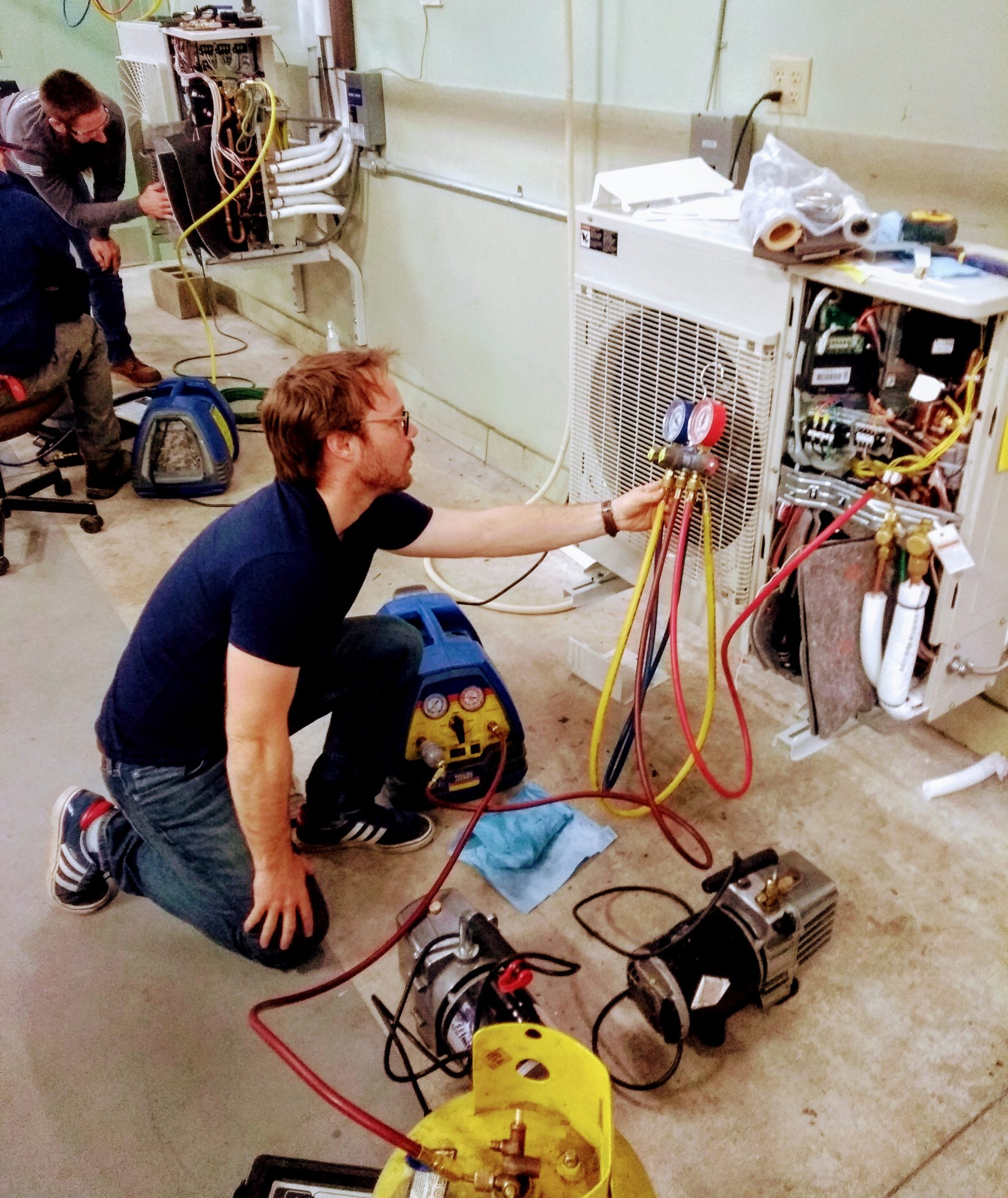 Trained Heat Pump Cleaners